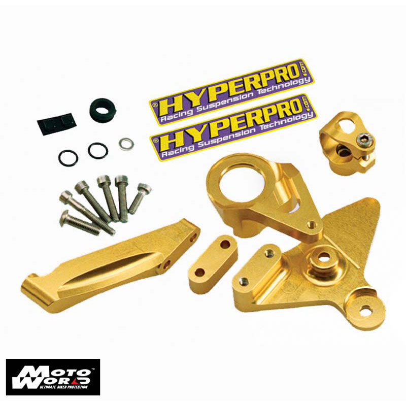 Hyperpro MKYA03 T001 Mounting Kit for Yamaha R3 2015 Gold