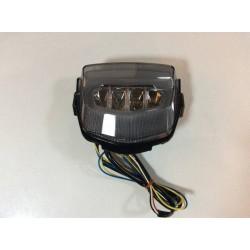 JST 30108CGLEDW-S LED Integrated Tail Light for Honda CBR1000RR 2012 Smoke Lens
