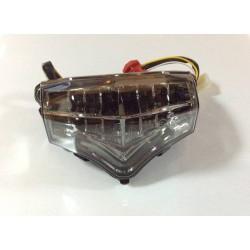 JST 60-1329S LED Integrated Tail Light for Yamaha FZ6-Fazer 04-09 Smoke Lens
