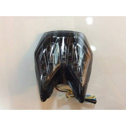 JST 8158CLEDW-S LED Integrated Tail Light for KTM Duke 690 Clear Lens