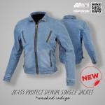 Komine JK-153 Protect Denim Single Jacket