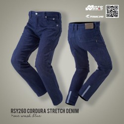 RS Taichi RSY260 Short Cordura Stretch Denim Pants