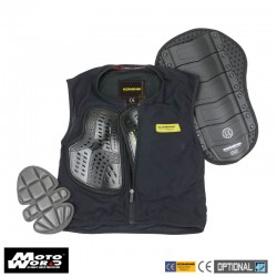 Komine SK 694 BLAC Ce Body Protection Liner Vest