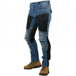 Komine PK719 Superfit Kevlar Mesh Denim Jeans