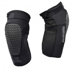 Komine SK-827 Air Through CE Support Knee Guard Fit