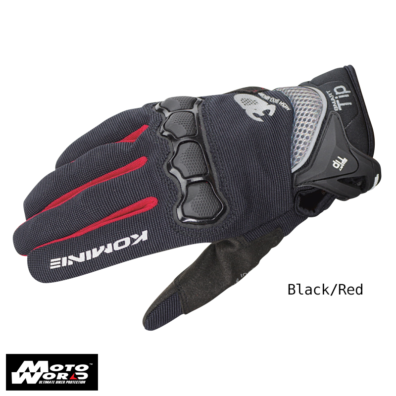 Komine Protect Mesh Gloves Plus