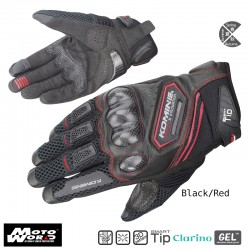 Komine GK 167 Carbon Protect Mesh Gloves