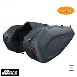 Komine SA 213 Molded Saddle Bag (2Pcs Per Set)