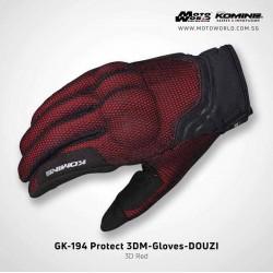 Komine GK 194 Protect 3D Mesh Gloves Douzi