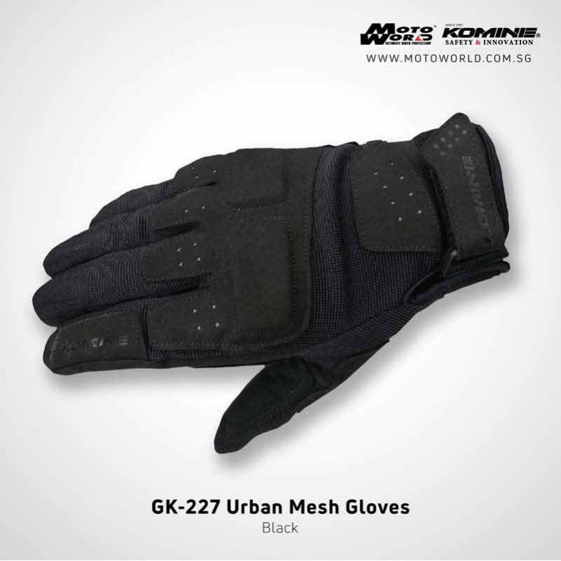 Komine GK227 Urban Mesh Gloves