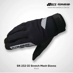 Komine GK232 CE Stretch Mesh Gloves