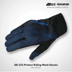 Komine GK 233 Protect Riding Mesh Gloves