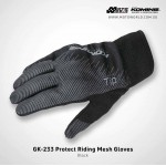 Komine GK233 Protect Riding Mesh Gloves
