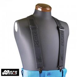 Komine AK 040 BLACK F Premium Suspender