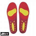 Komine BK 208 GRAY Heel Support Sports Insoles