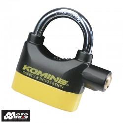 Komine LK 120 Alarm Padlock Black/Yellow