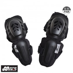 Komine SK 610 BLACK Pro Elbow Guard Delux