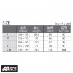 Komine SK 625 BLACK Armored Top Underwear