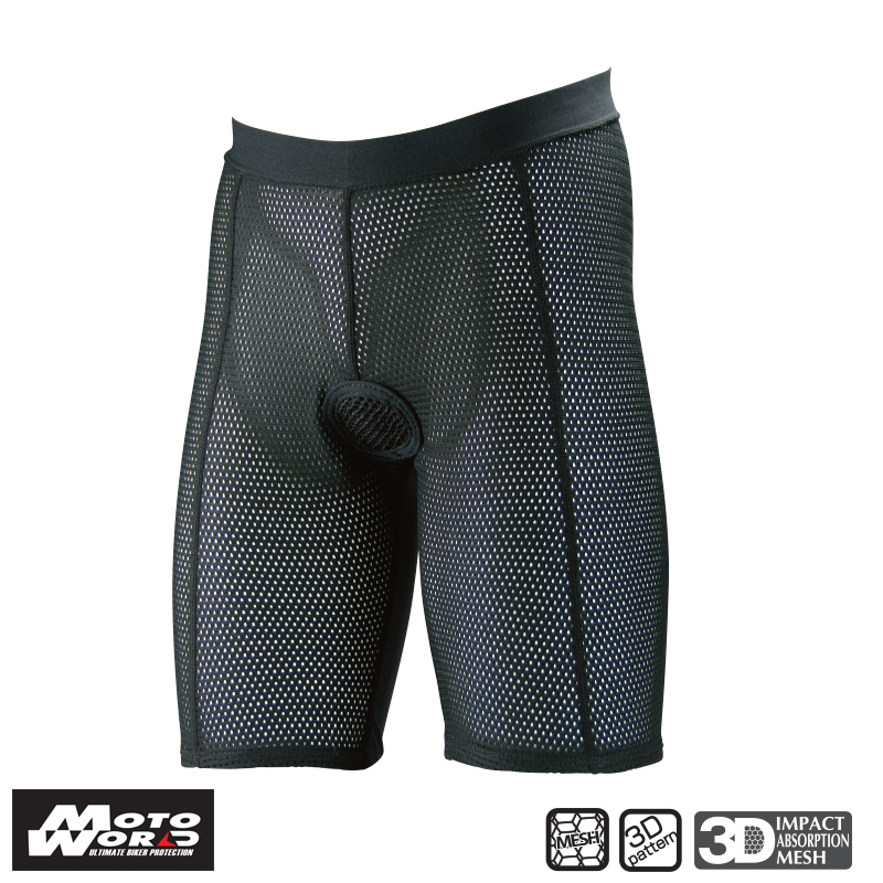 Komine SK 632 BLAC Air Through 3D Mesh Inner Pants