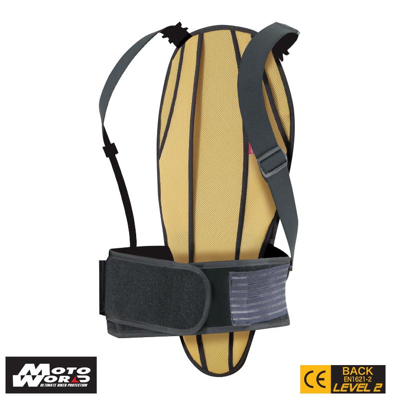 Komine SK 681 BLACK Extreme Back Guard Ce Level 2