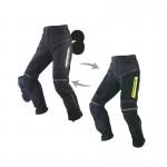 Komine PK-716 Full Year Black Riding Pants