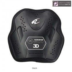Komine SK 807 CE Level 2 Inner Chest Armor Black