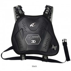 Komine SK 808 BLACK CE Level 2 Chest Armor