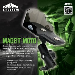 Magfit Moto Phone Mount