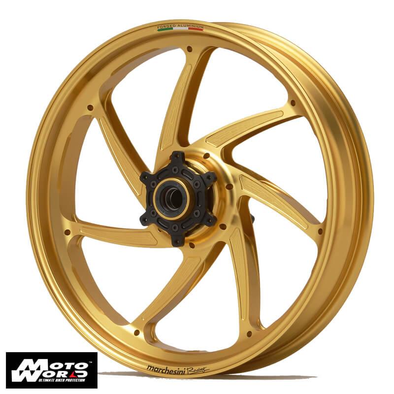 Marchesini AS71278AONO Front Wheel Kit for Kawasaki ZX10R - Ano Gold