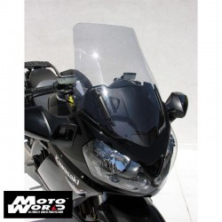 Ermax 010354036 Grey High Protection Windshield for Kawasaki GTR1400 15-17