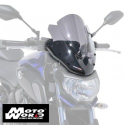 Ermax 0602Y8454 Grey Nose Screen for MT07 (FZ7) 18-19