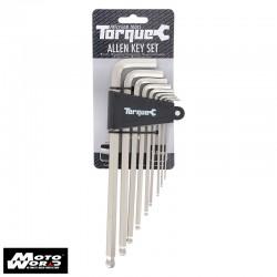 Oxford TL120 Torque Allen Key Set 1.5-10mm