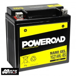 Poweroad YGZ14HLBS Nano Gel Battery