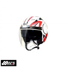 TRAX T729-G3 Open Face Motorcycle Helmet