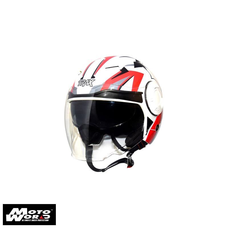 TRAX T729-G3 Open Face Motorcycle Helmet