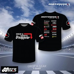 Motoworld Drop a Gear T-Shirt