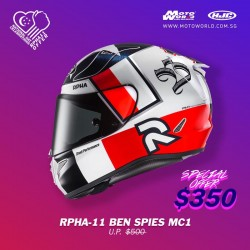 HJC RPHA 11 Ben Spies Full Face Motorcycle Helmet