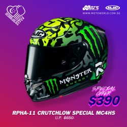 HJC RPHA 11 Crutchlow Special 1 MC4HSF Full Face Motorcycle Helmet
