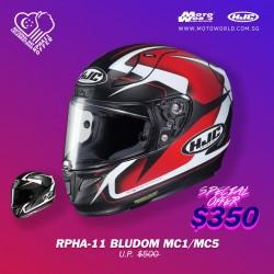 HJC RPHA 11 Bludom Full Face Motorcycle Helmet