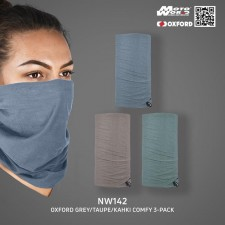 Oxford NW142 Grey/Taupe/Kahki Comfy 3-pack