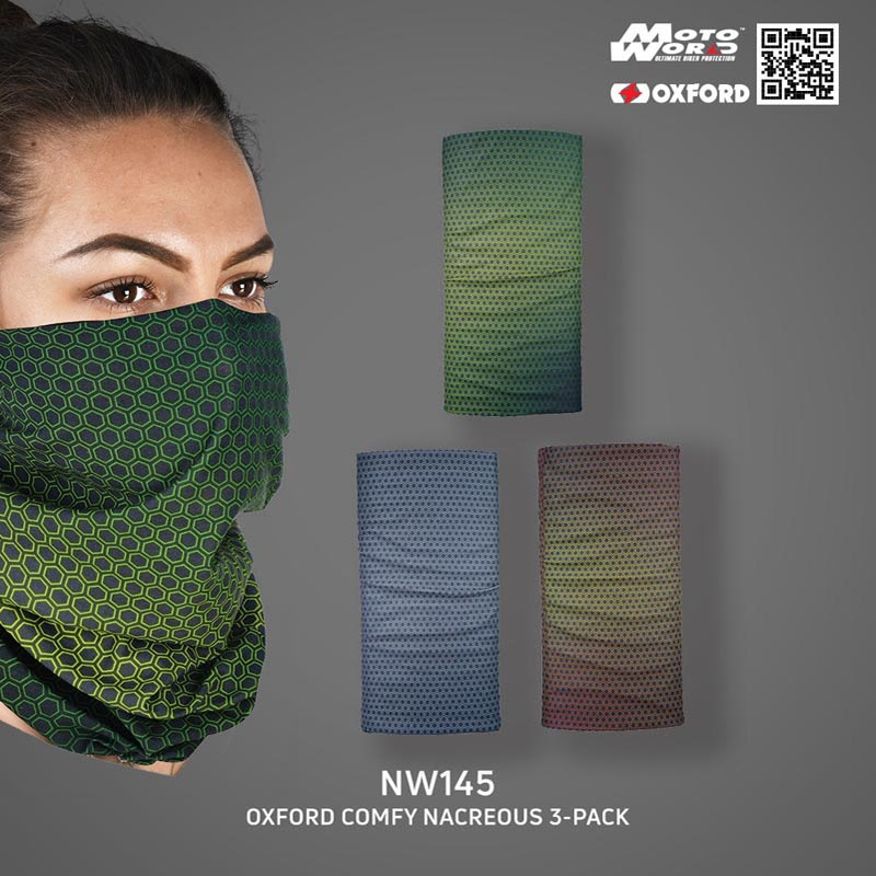 Oxford NW145 Comfy Nacreous 3-Pack