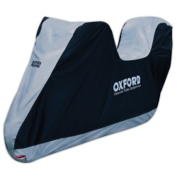 Oxford Aquatex Motorcycle Cover with Top Box