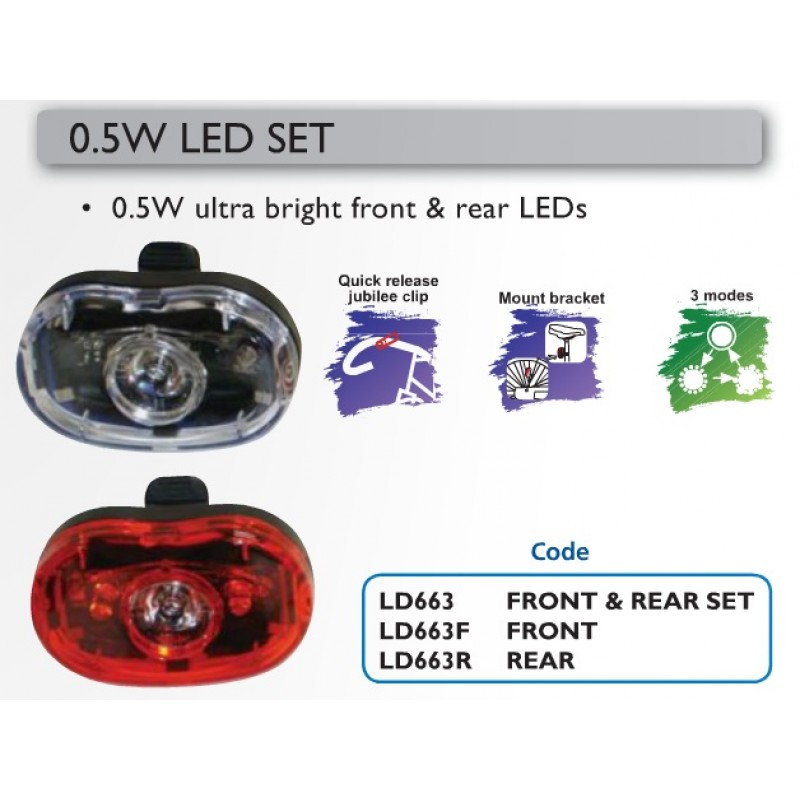 Oxford LD663F 1/2W Front Led