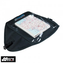 Oxford OF255 Suck-On Map Holder - Black
