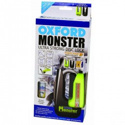 Oxford OF36M Monster Disc Lock Yellow