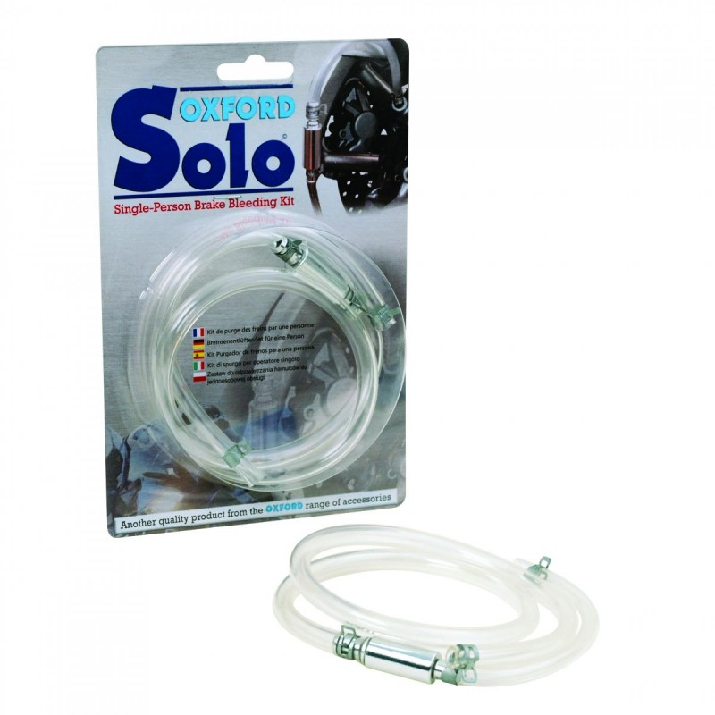 Oxford SOLO Single-Person Brake Bleeder Kit OF379