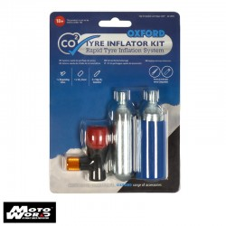 Oxford OX163 CO2YRE Repair 2 Cycle Tyre Kit