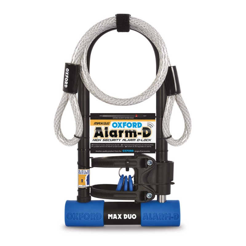 Oxford LK357 Alarm-D Max Duo 320mm X 173mm