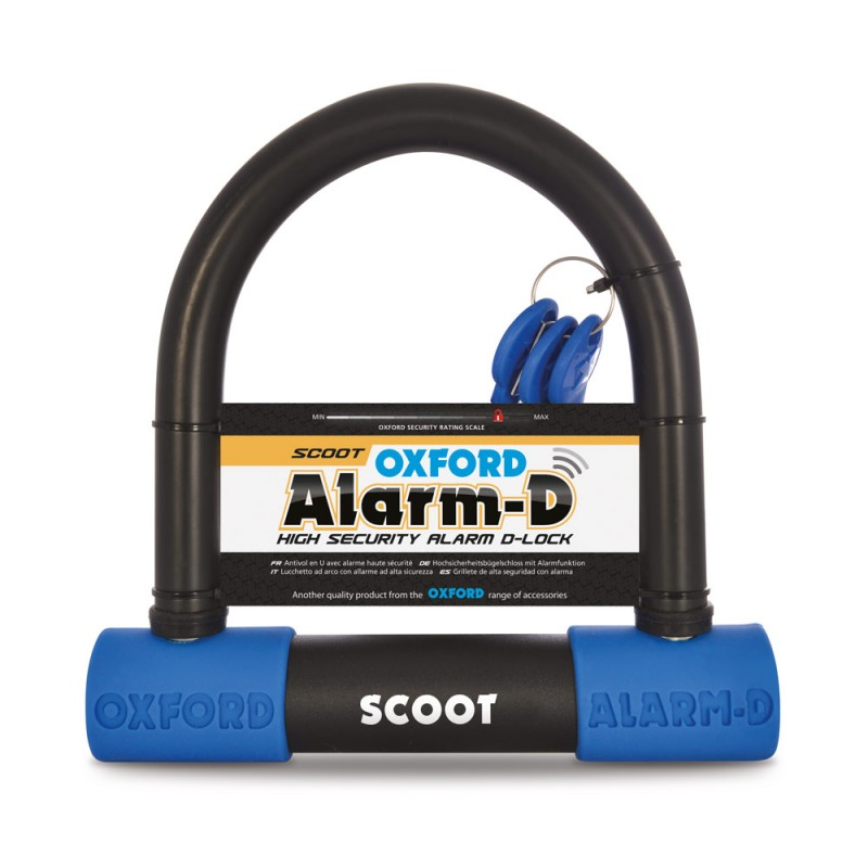 Oxford LK358 Alarm-D Scoot (200mml X 196mmw X 16mm)
