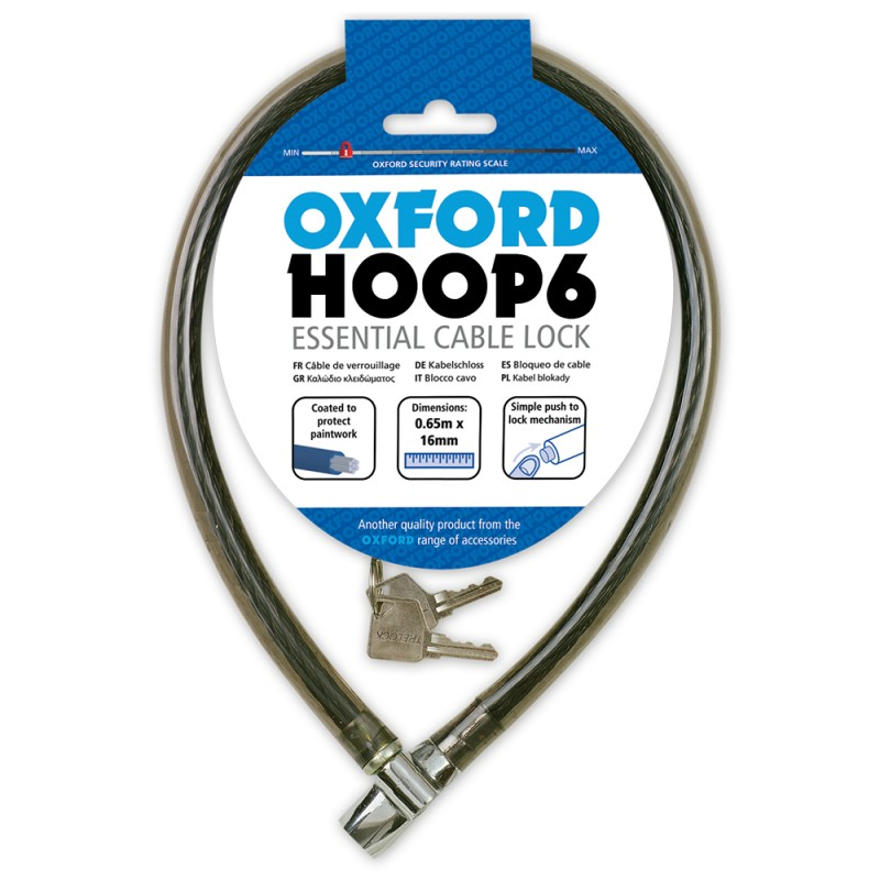 Oxford OF228 Beefy Cable Black 16mm X 650mm